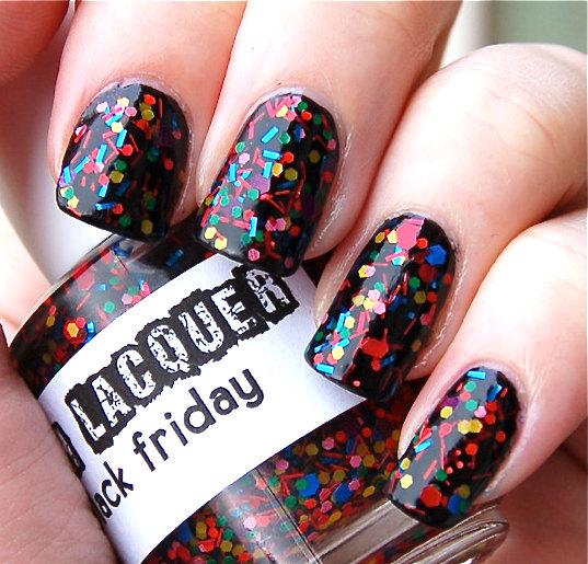 Lacas de uñas efecto 'nailart', por Lush Lacquer
