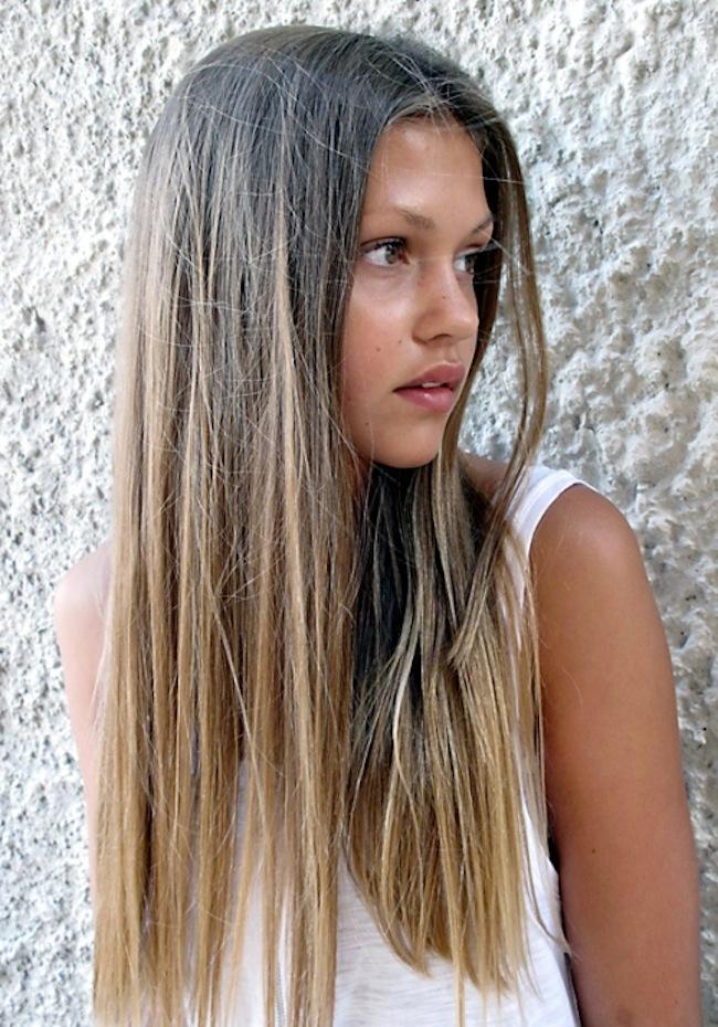 Baño Color Rojo Deliplus:Natural Ombre Hair