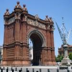 Arco del Triunfo Paseo Lluis Companys