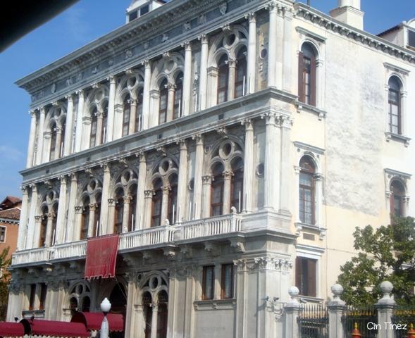 Casino de Venecia desde el Vaporetto