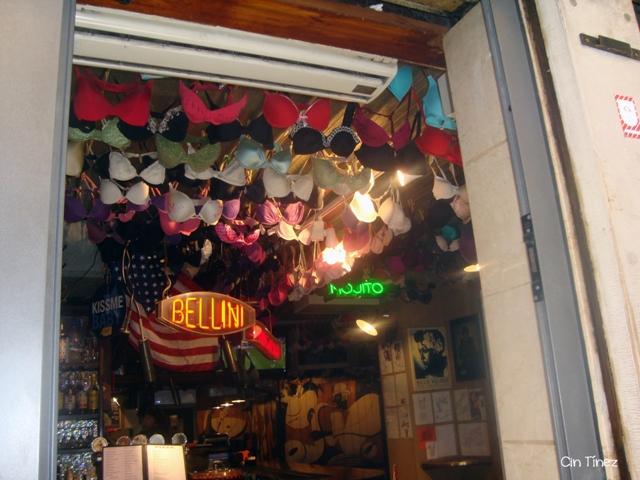 Techo de un bar veneciano