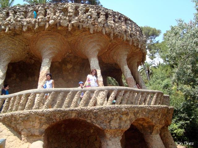 Viaducto del Algarrobo - Park Güell