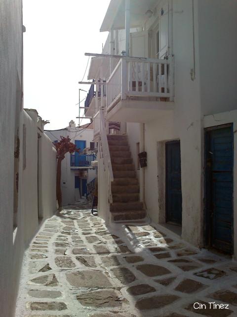 Calles de Míkonos