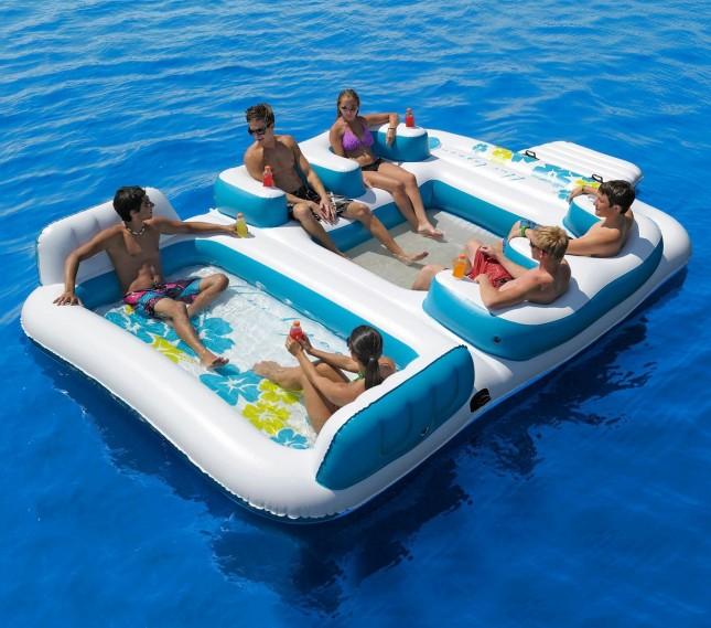 En mi bolso creativas colchonetas y flotadores para el verano - Colchonetas para piscina ...