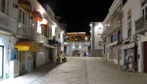 Centro Albufeira noche