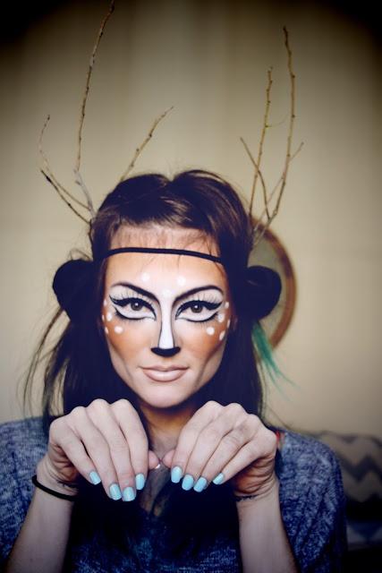 maquillaje halloween bambi2