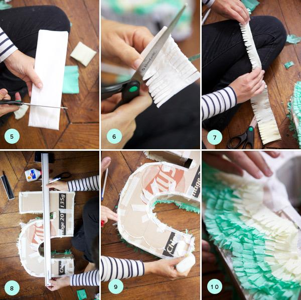 Как сделать цифру из бумаги пошагово