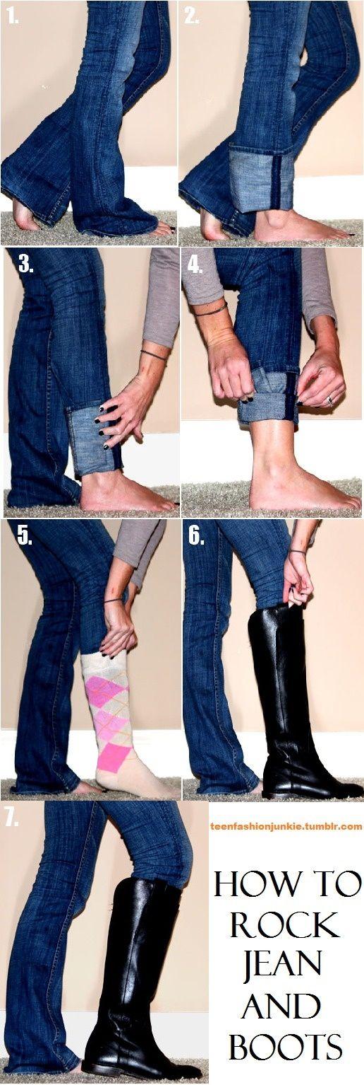 pantalones con botas