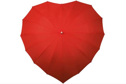 paraguas corazon