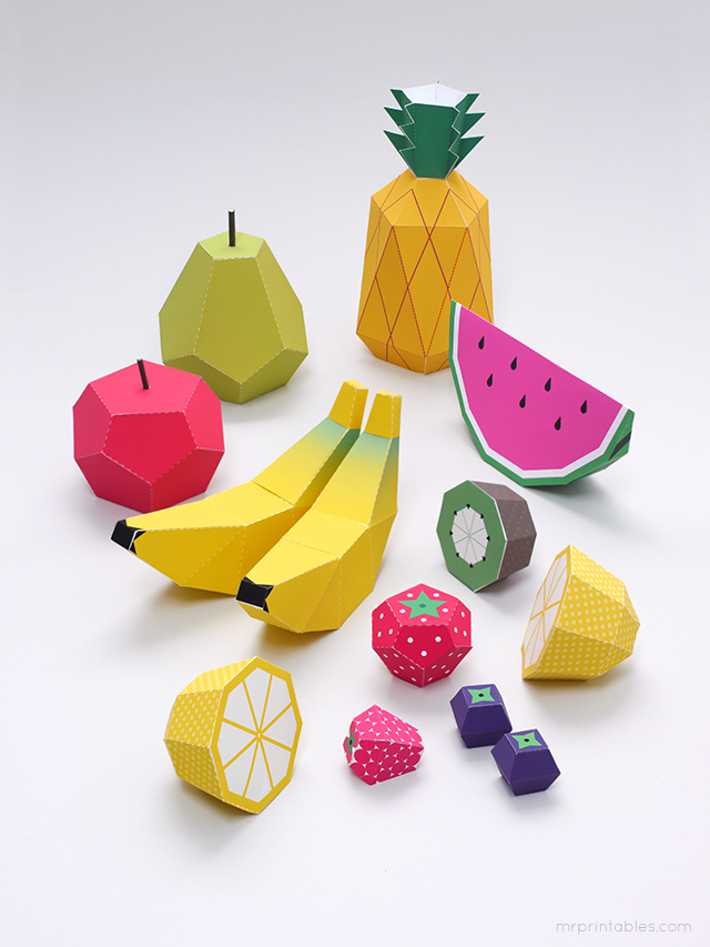 templates frutas1