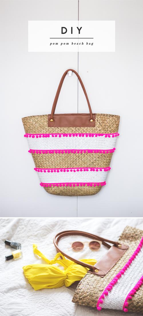 En mi bolso diy redecora tu cesta para la playa - Cestas para la playa ...