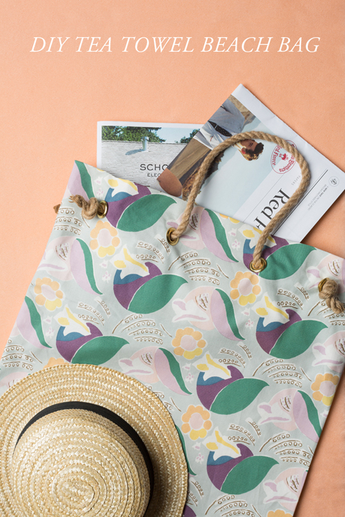 TEA-TOWEL-BEACH bag1