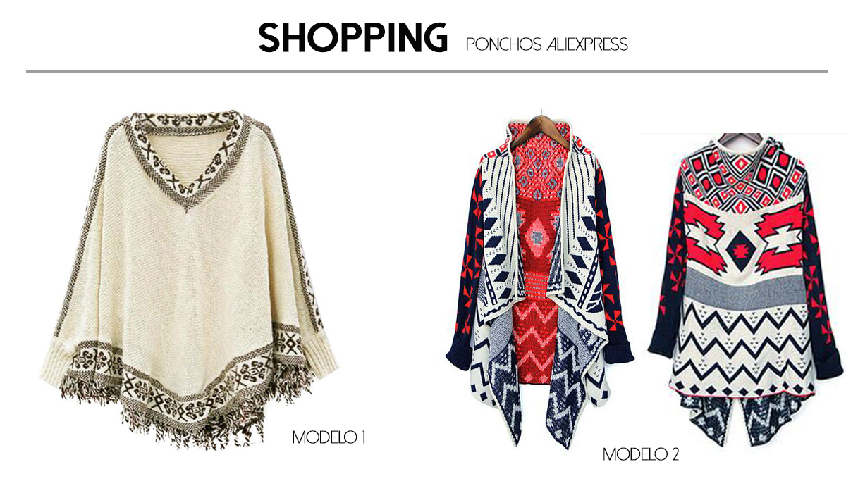 ponchos aliexpress