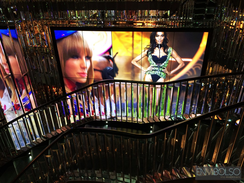 Victoria Secret stairs