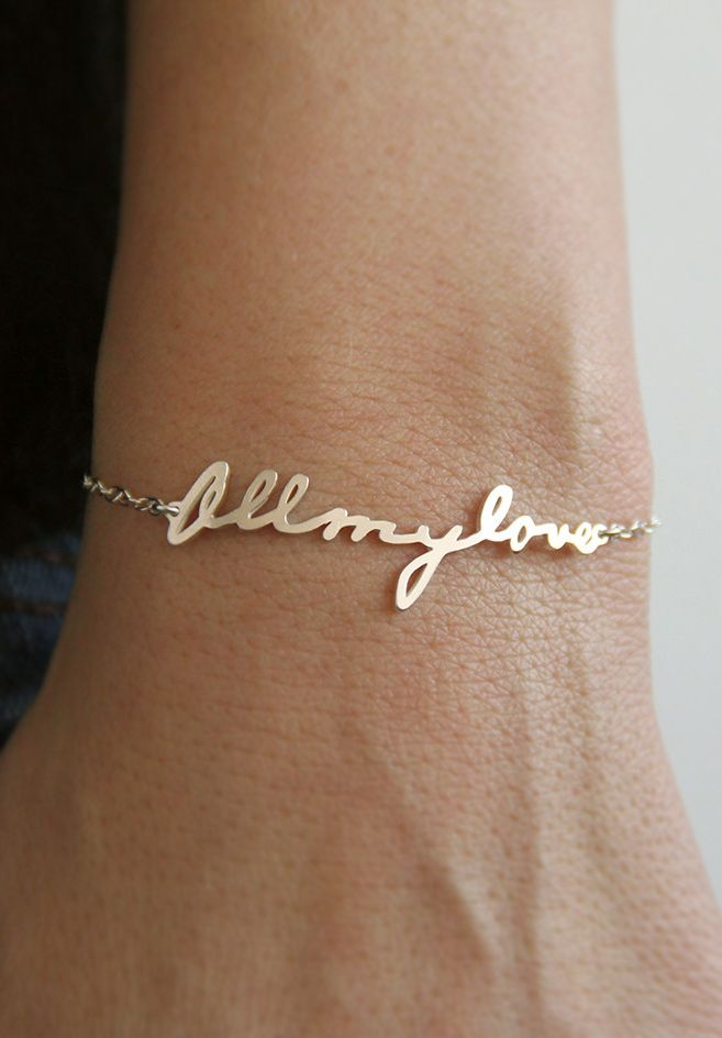 all my love pulsera