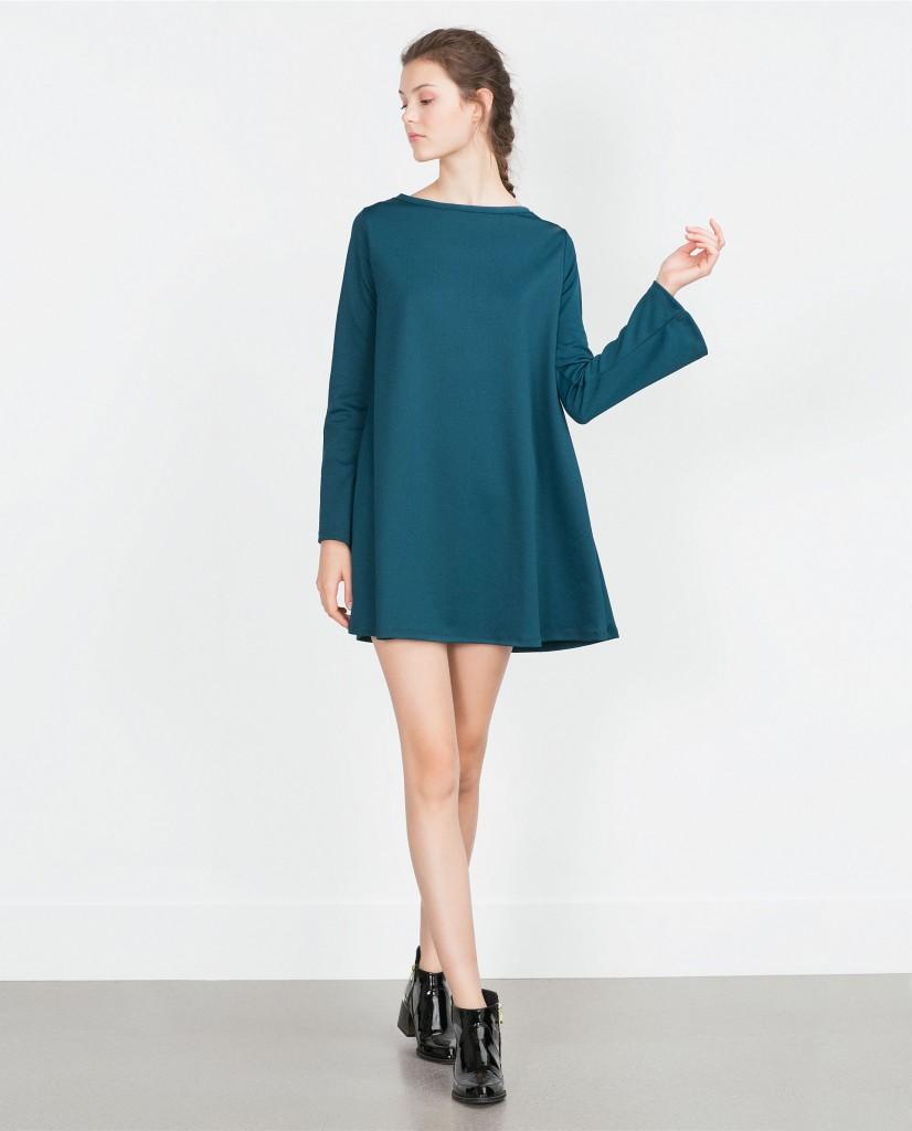 vestido_zara_azul_campana