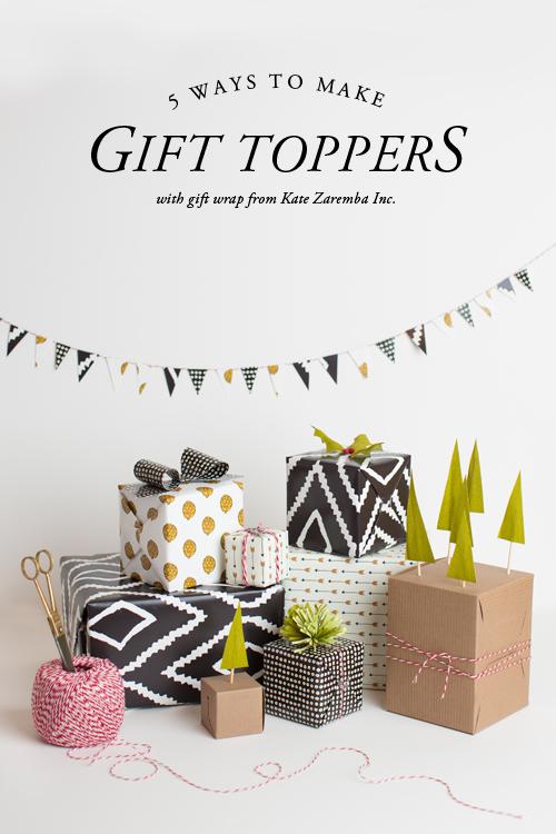 gift topper