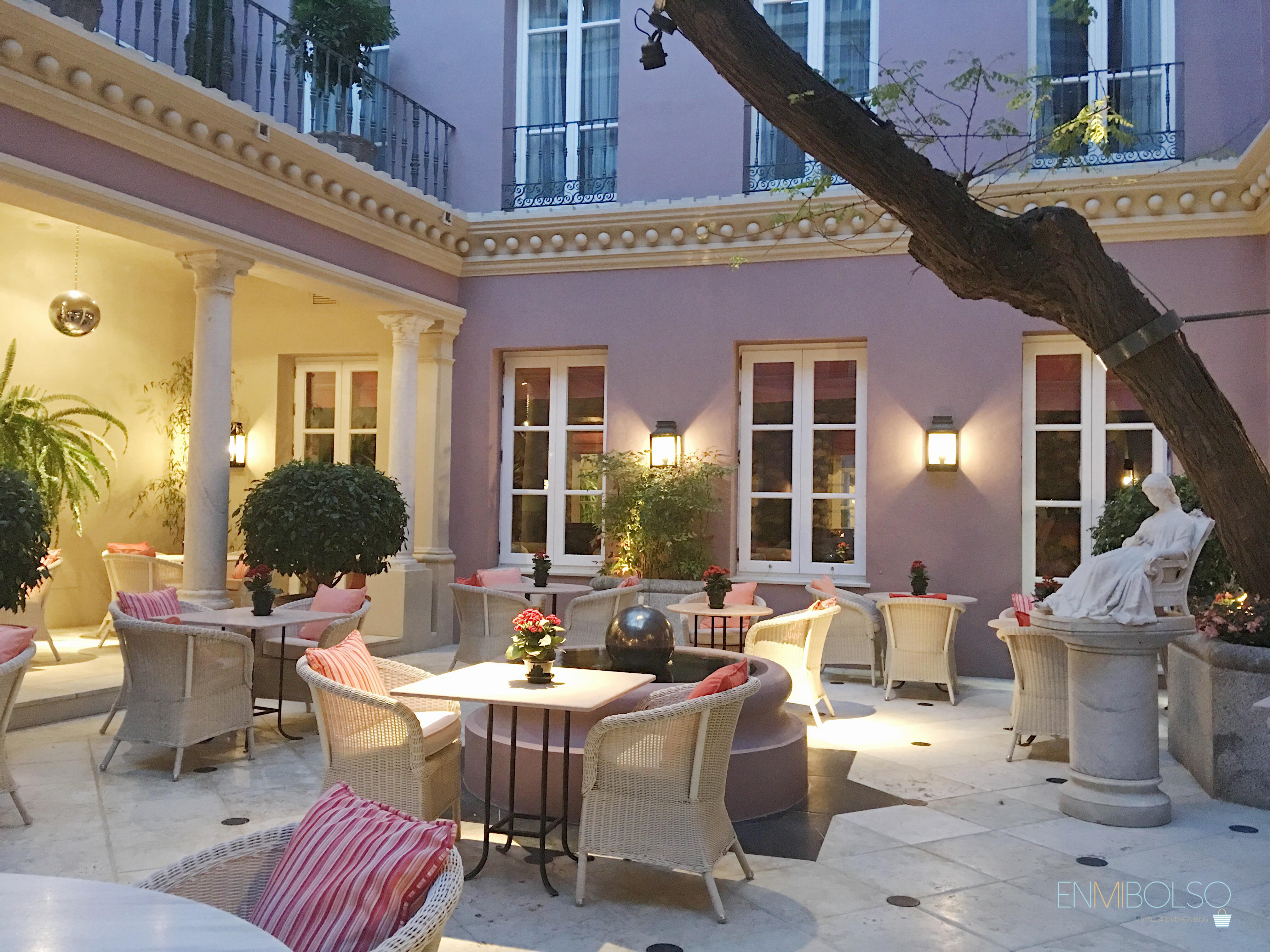 Carratraca-Hotel Villa Padierma-Patio