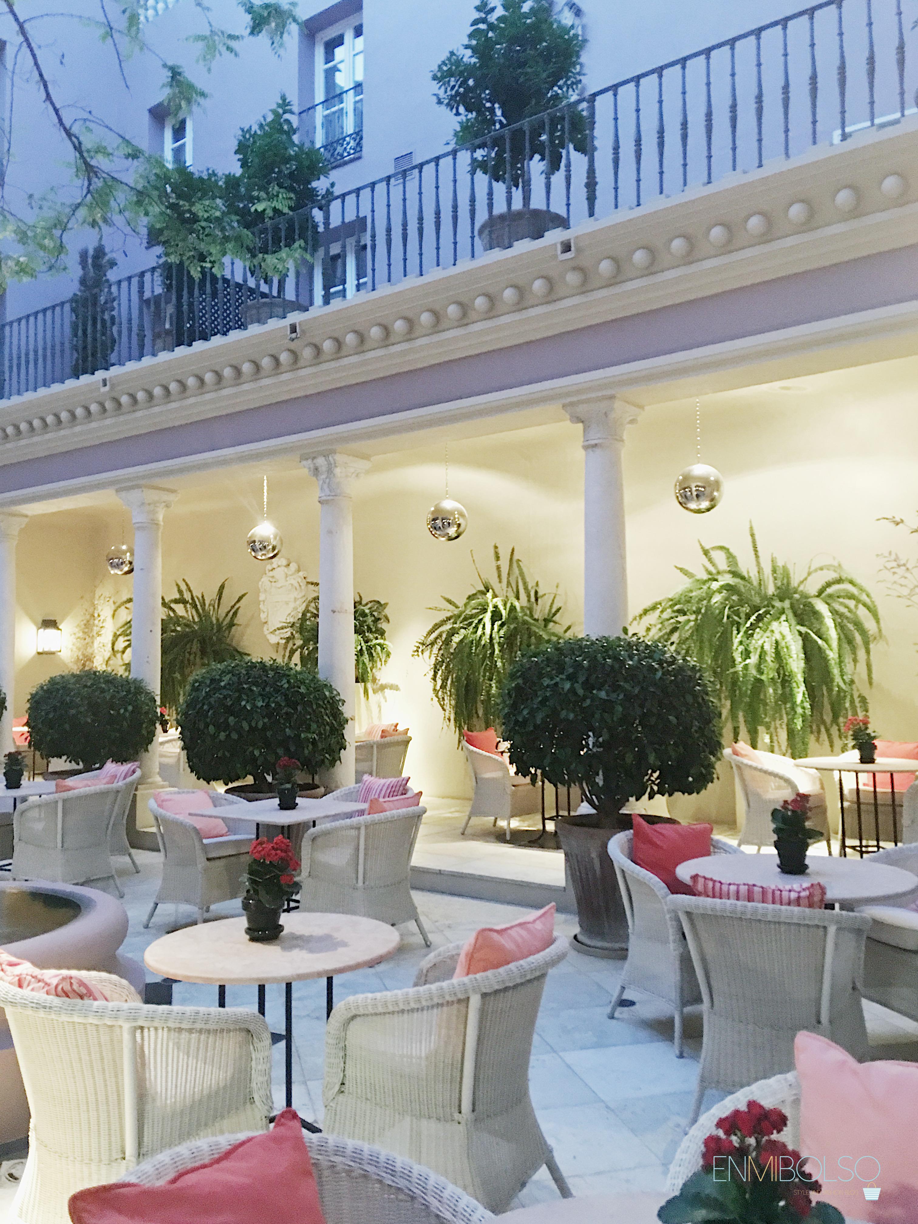 Carratraca- Hotel Villa Padierma-Patio1