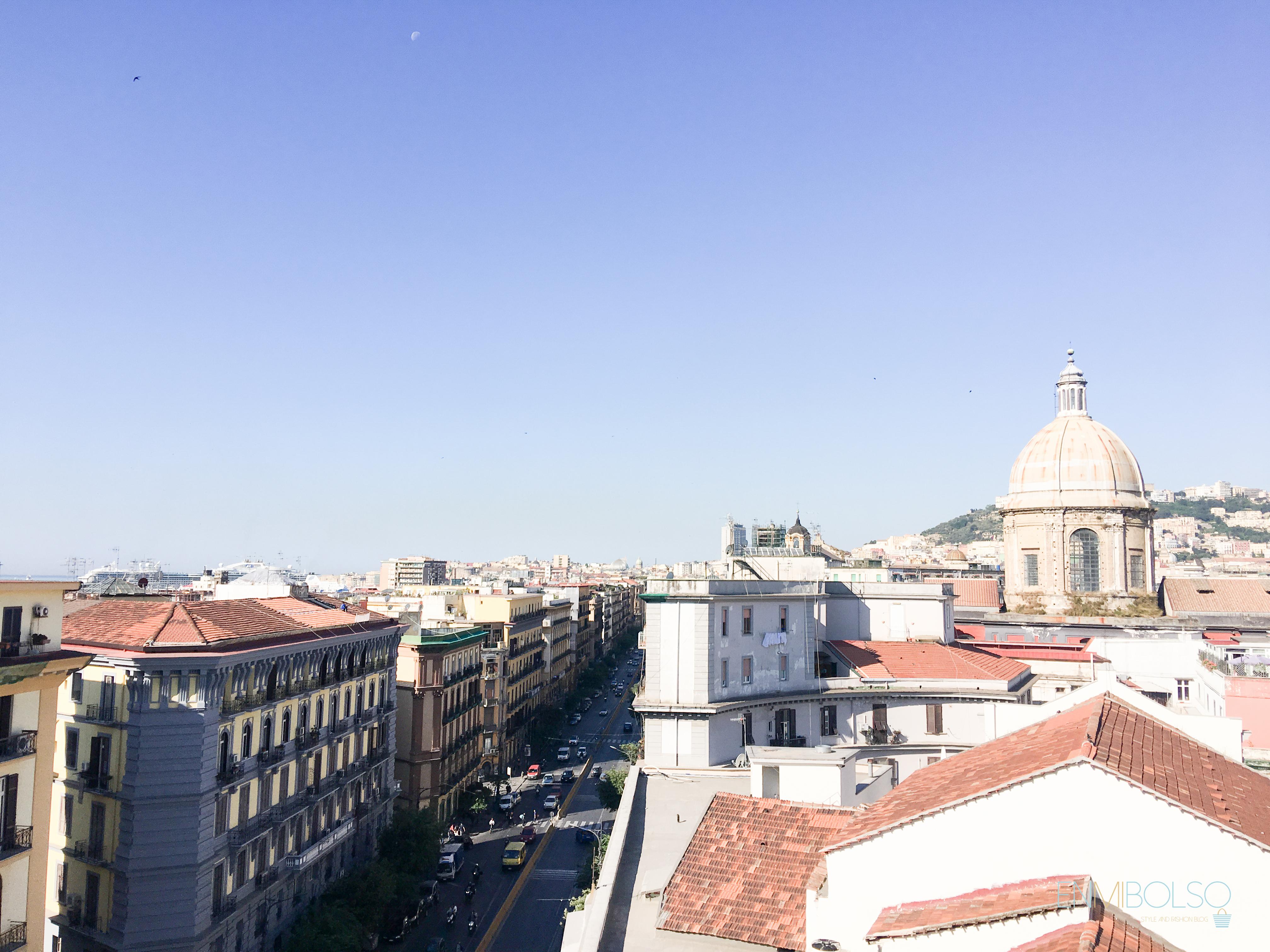 Vistas-hotel Una Napoli-enmibolso