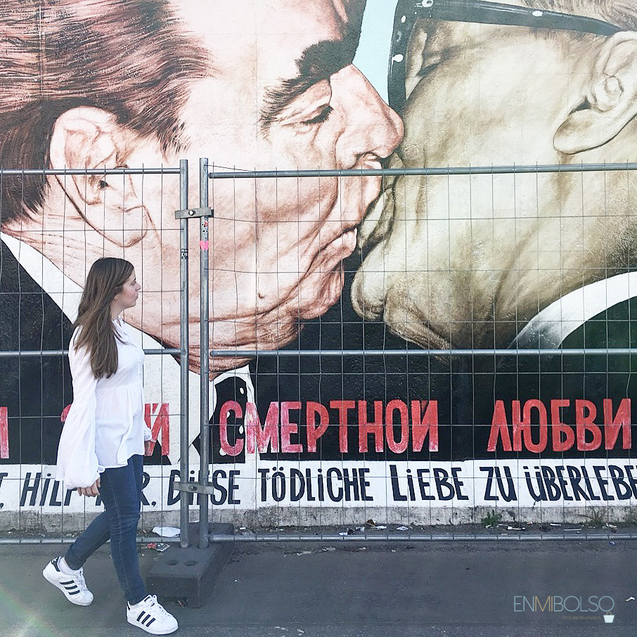 East side Gallery-el beso-enmibolso