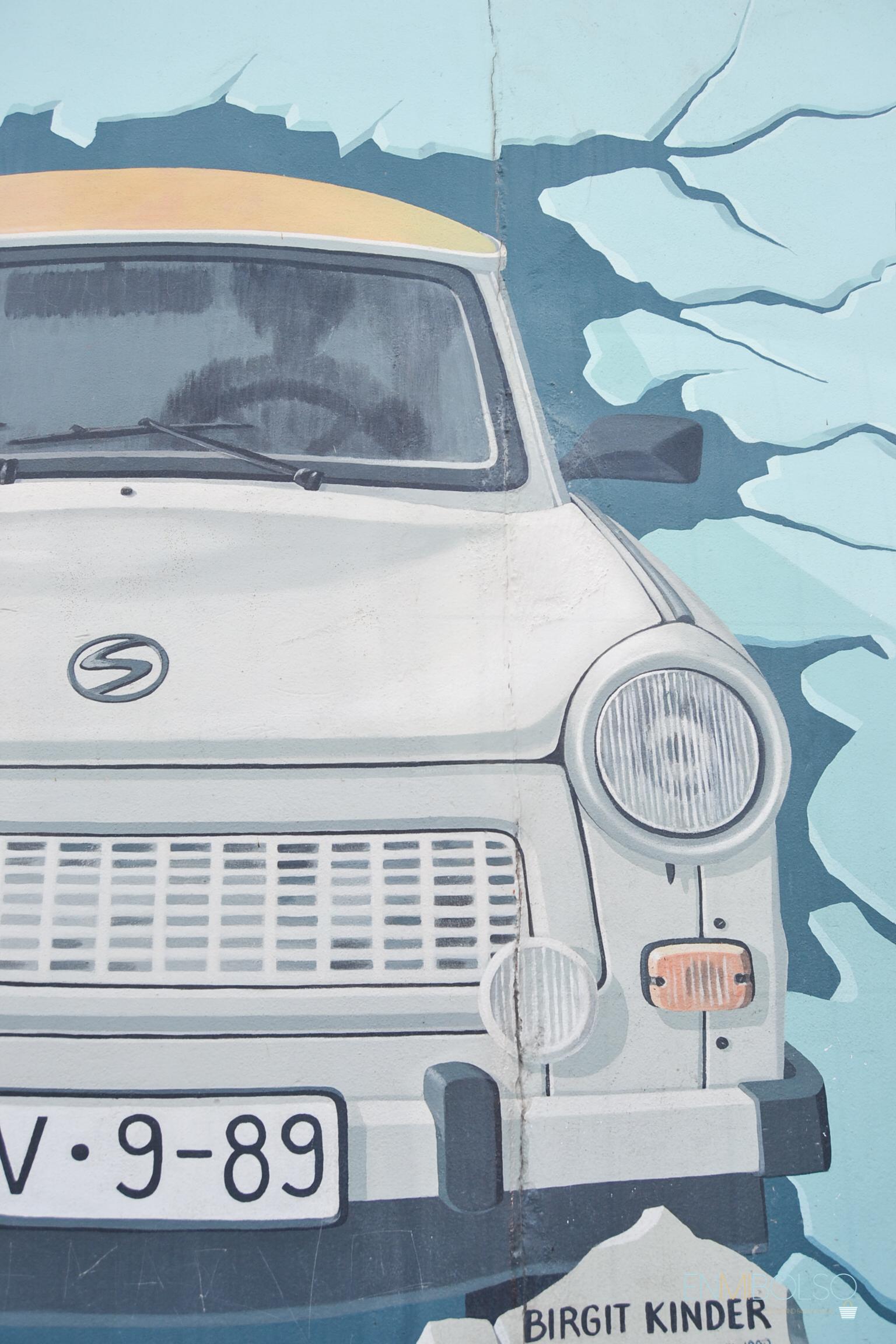 Muro Berlin-coche travi-enmibolso