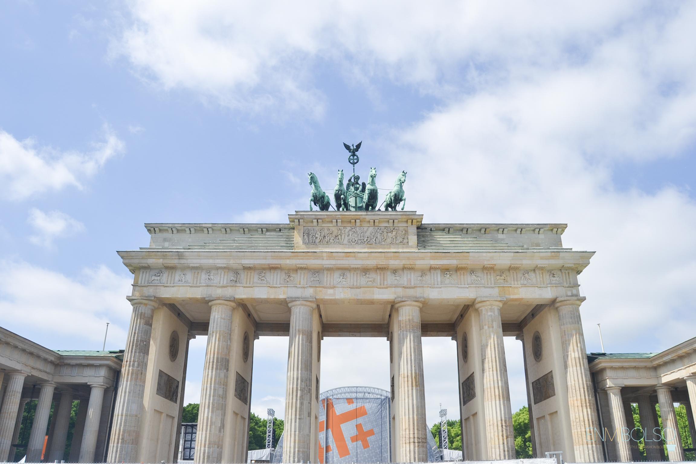 Puerta de Brandenburgo-enmibolso
