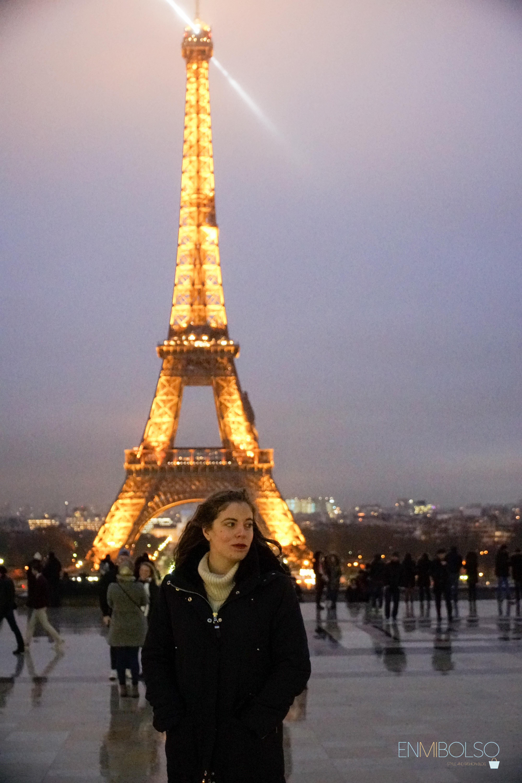 Torre Eiffel de noche-enmibolso