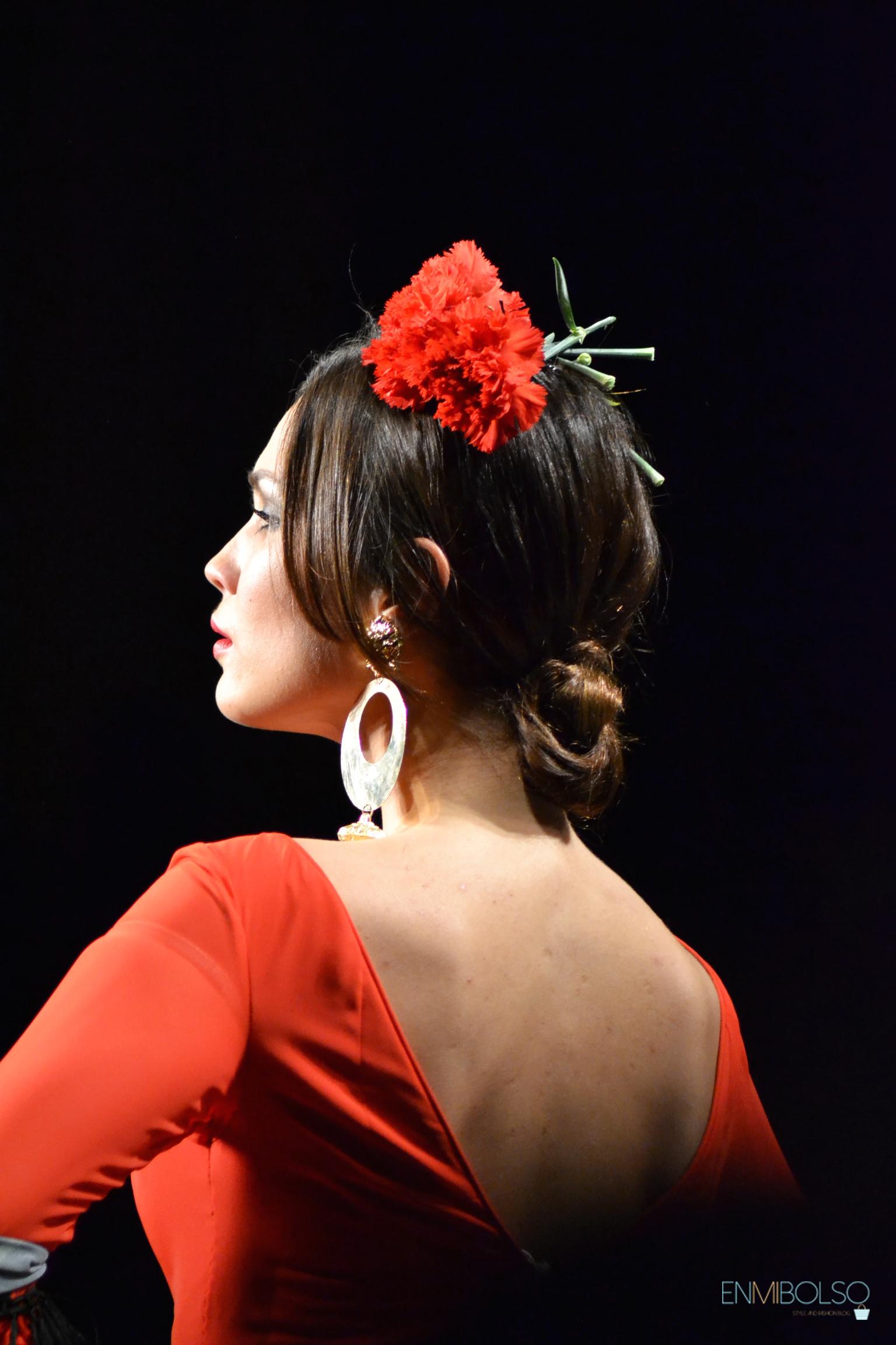 Más inspirador peinados feria Colección de cortes de pelo estilo - En Mi Bolso - Feria de Abril 2015: Peinados de flamenca